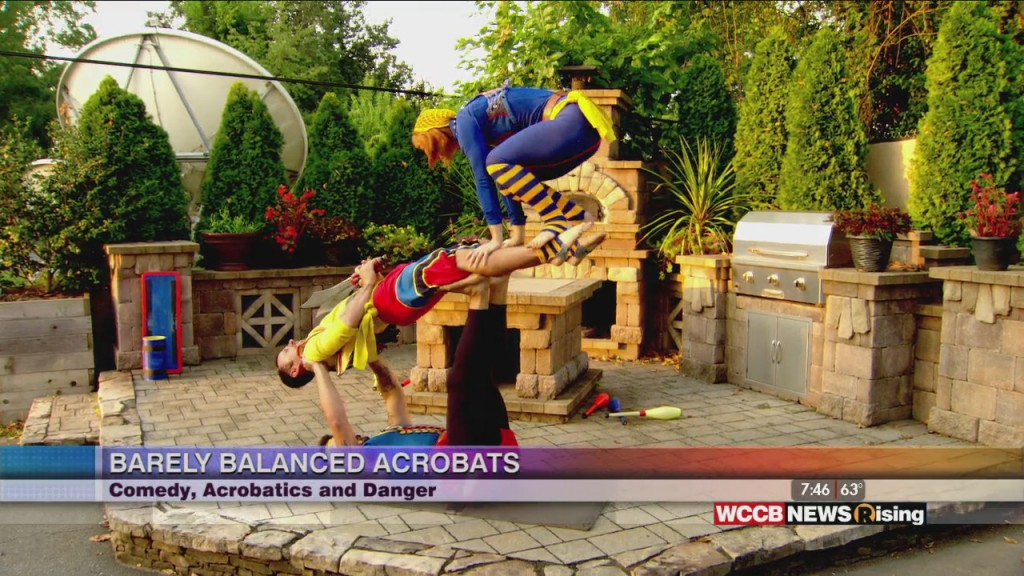 Barely Balanced Acrobatics: Carolina Renaissance Festival