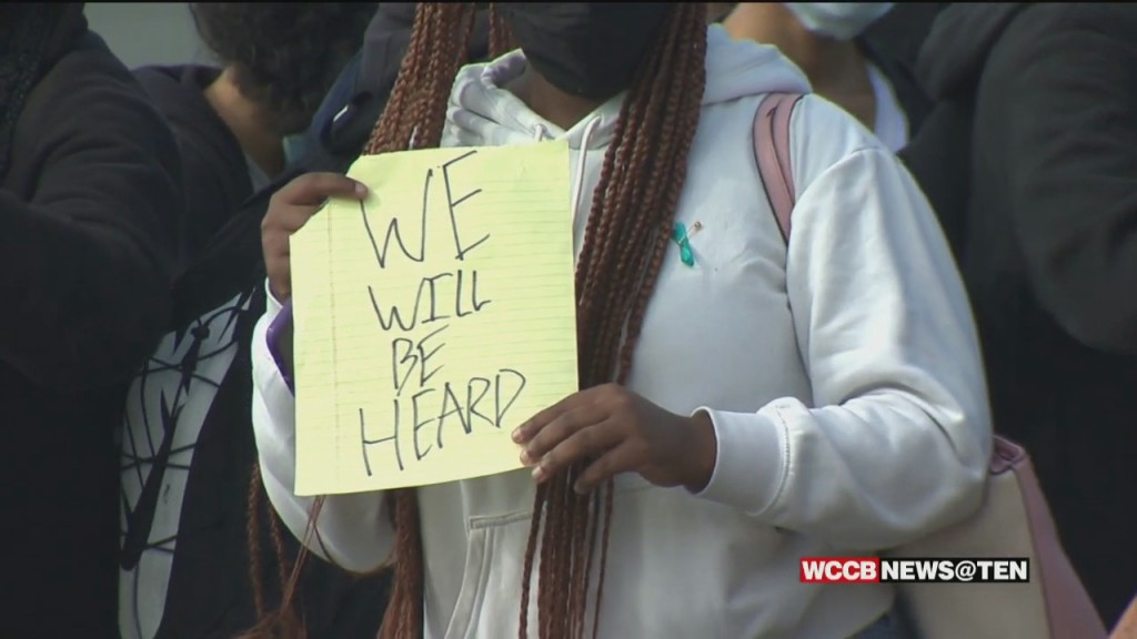 Protests At Olympic High School