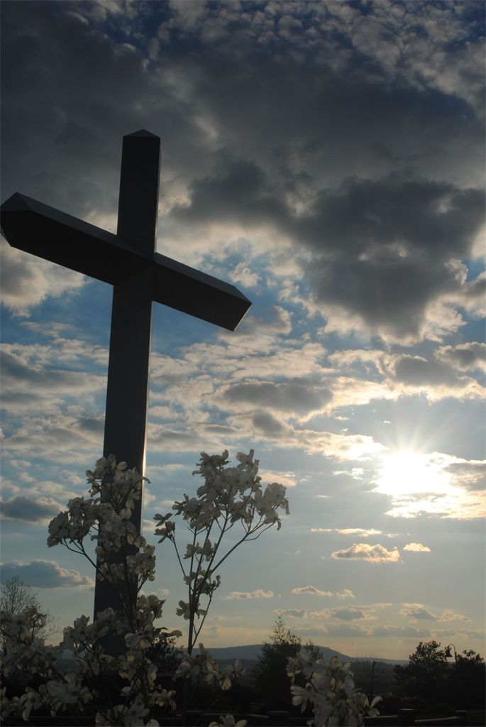 The beautiful sky behind this cross took my breath away!  Hope you like it!