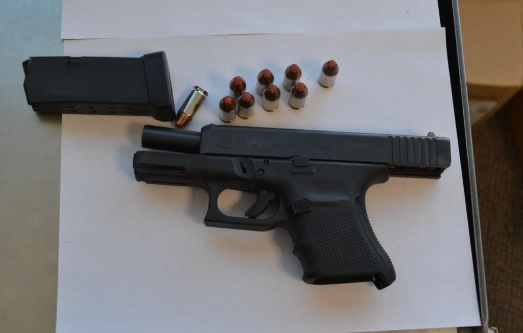 TSA photo of gun