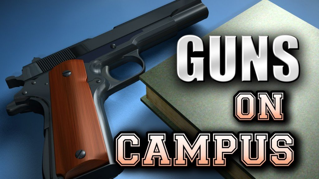 graphic guns on campus
