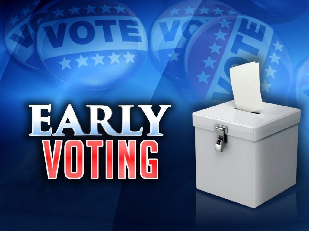 Early Voting Graphic