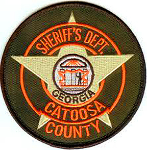 patch for Catoosa County sheriff's dept.