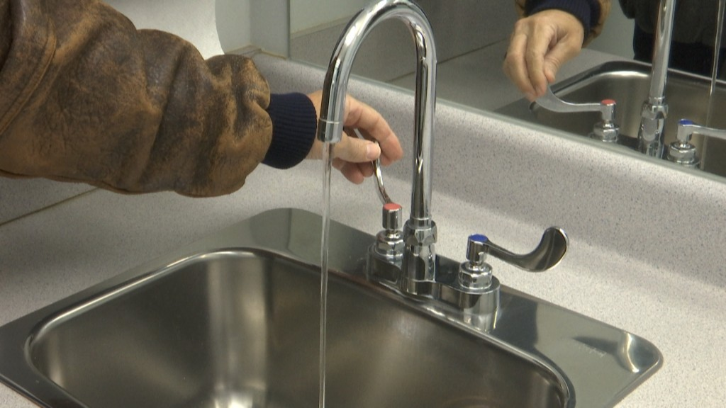 running water to avoid frozen pipes