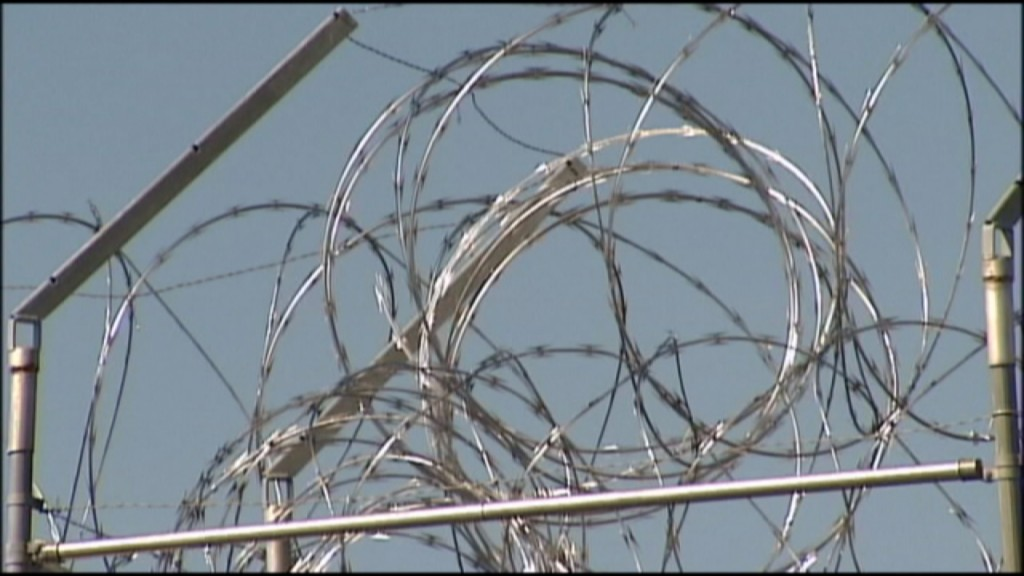 Razor Wire at Silverdale Correctional Facility
