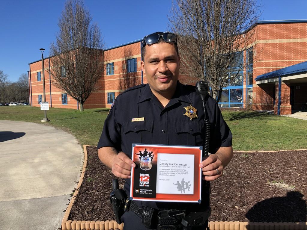 Bradley County Deputy Marlon Nelson 1st Responder award