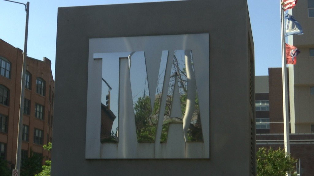 TVA Downtown Chattanooga Offices Sign