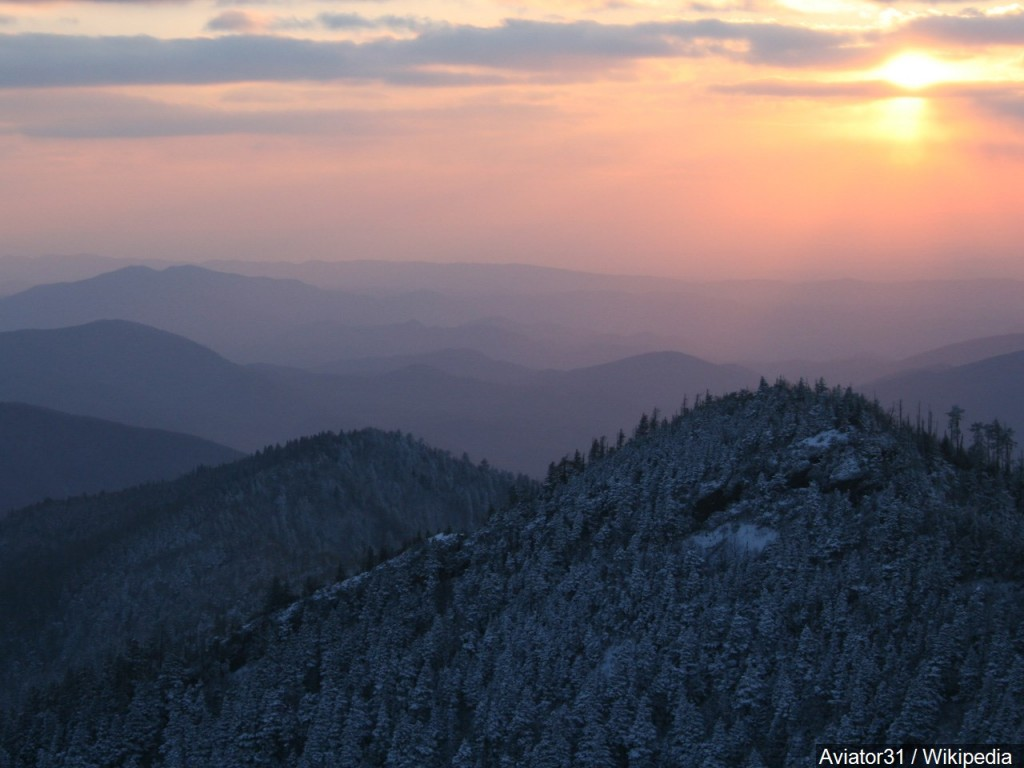 The Great Smoky Mountains of Sevier County
