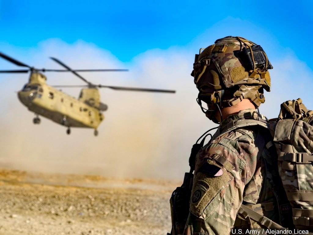 U.S. Army soldier in Southeastern Afghanistan