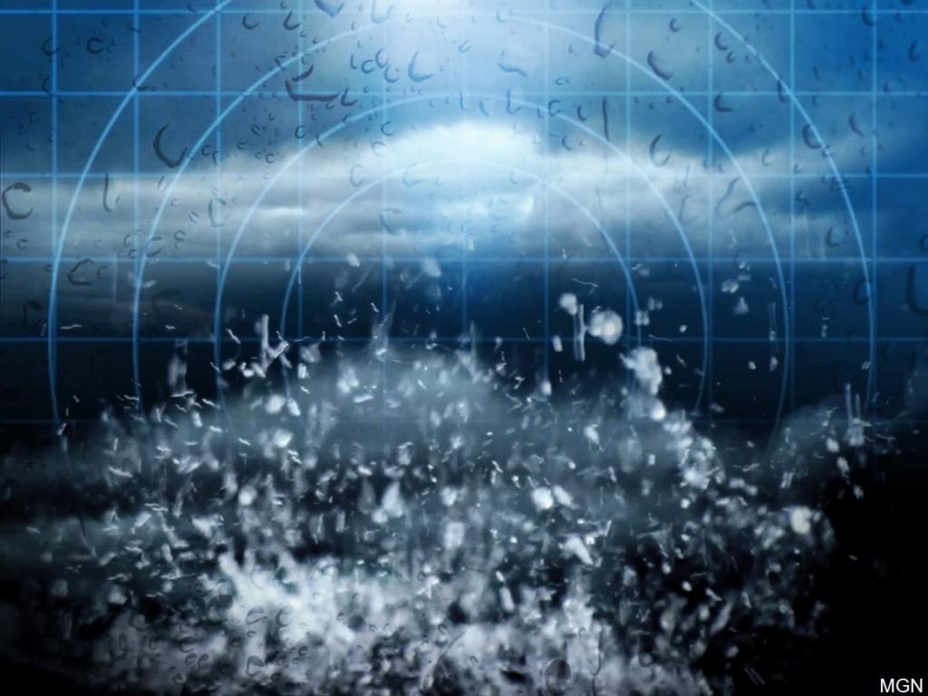 Storm warning background