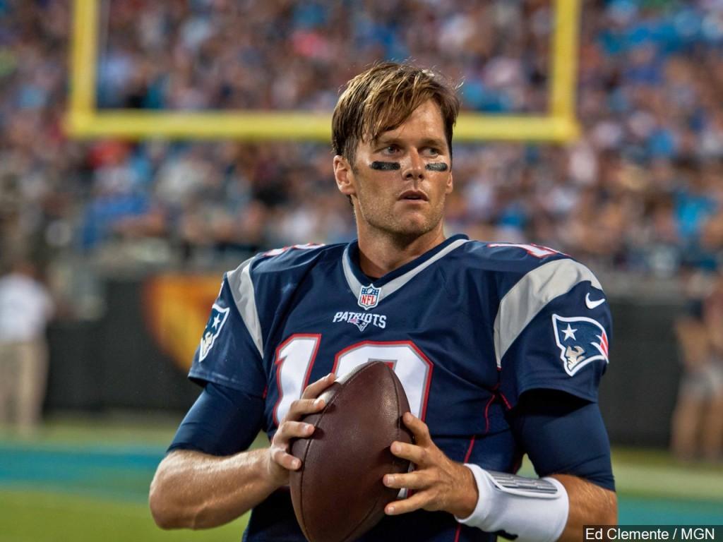 Carolina Panthers vs New England Patriots 8/26/16 - Tom Brady