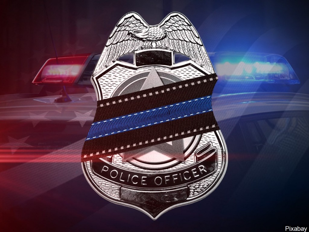 Fallen Police Officer badge