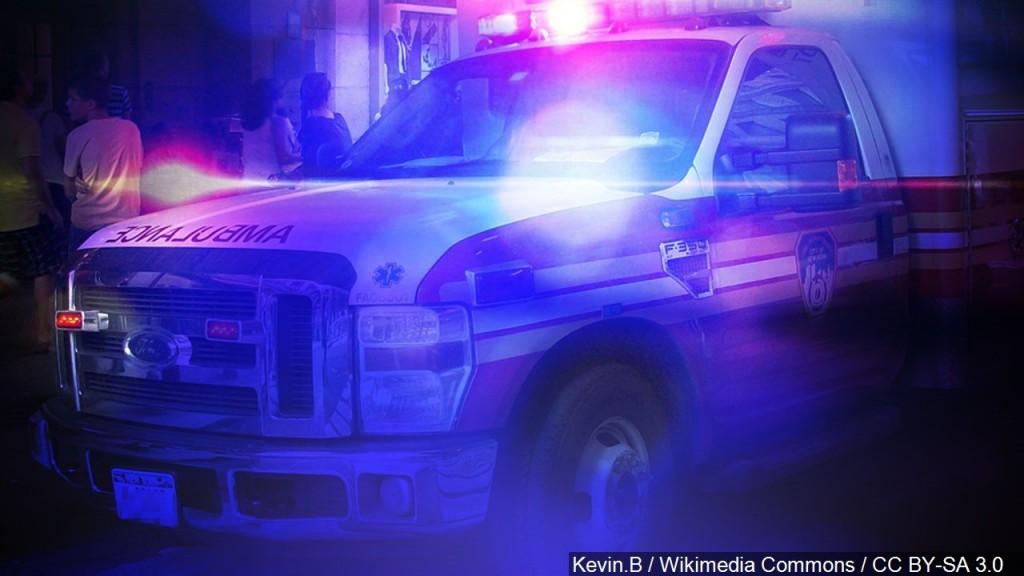 Ambulance and police lights; emergency