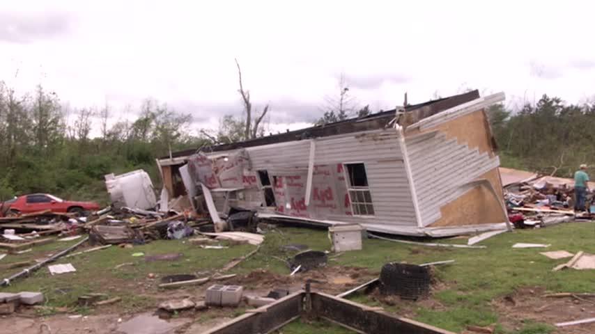Standifer Gap ballfields still unusable after tornados