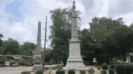 Confederate Statue in Cleveland