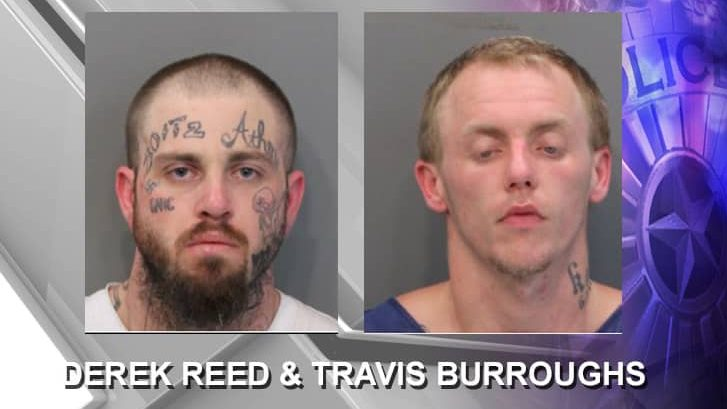 Derek Reed and Travis Burroughs