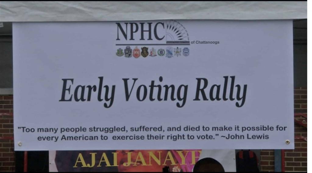 NPHC voting rally