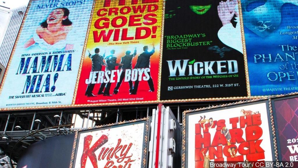 Credit: Broadway Tour / CC BY-SA 2.0