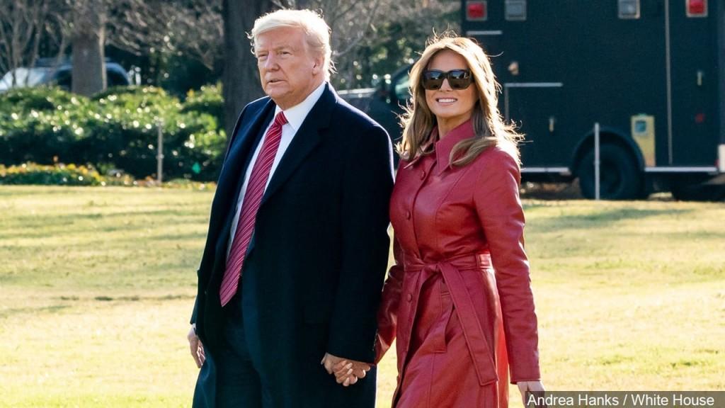 President Donald J. Trump and First Lady Melania Trump