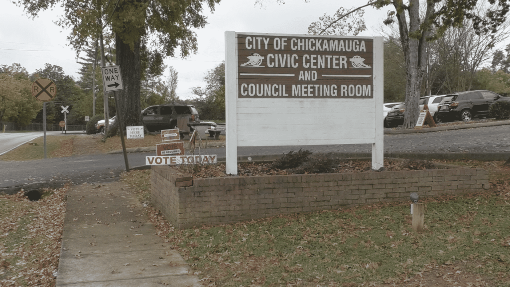 Chickamauga Civic Center opened as an additional voting location