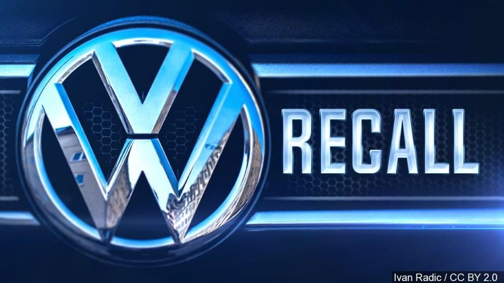 Volkswagen VW recall