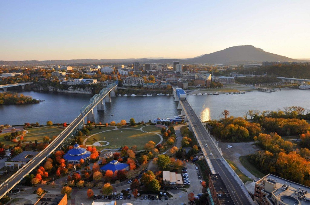 Picture by Chattanooga Tourism Co. Fall in Chattanooga!