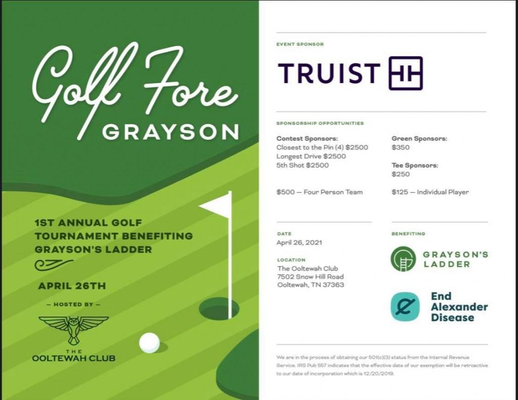 Golf Fore Grayson - Grayson's Ladder