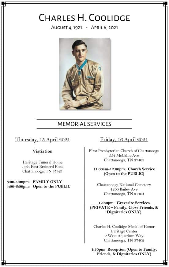 Charles-H.-Coolidge-Memorial-Services