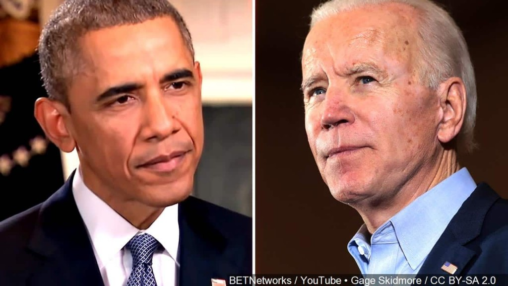 BETNetworks / YouTube  / CC BY-SA 2.0 Biden & Obama