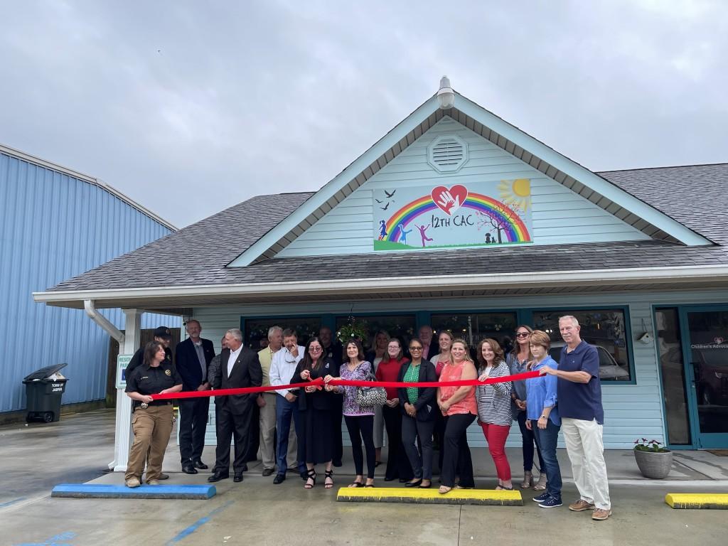 Children's Advocacy Center Ribbon Cutting in Jasper