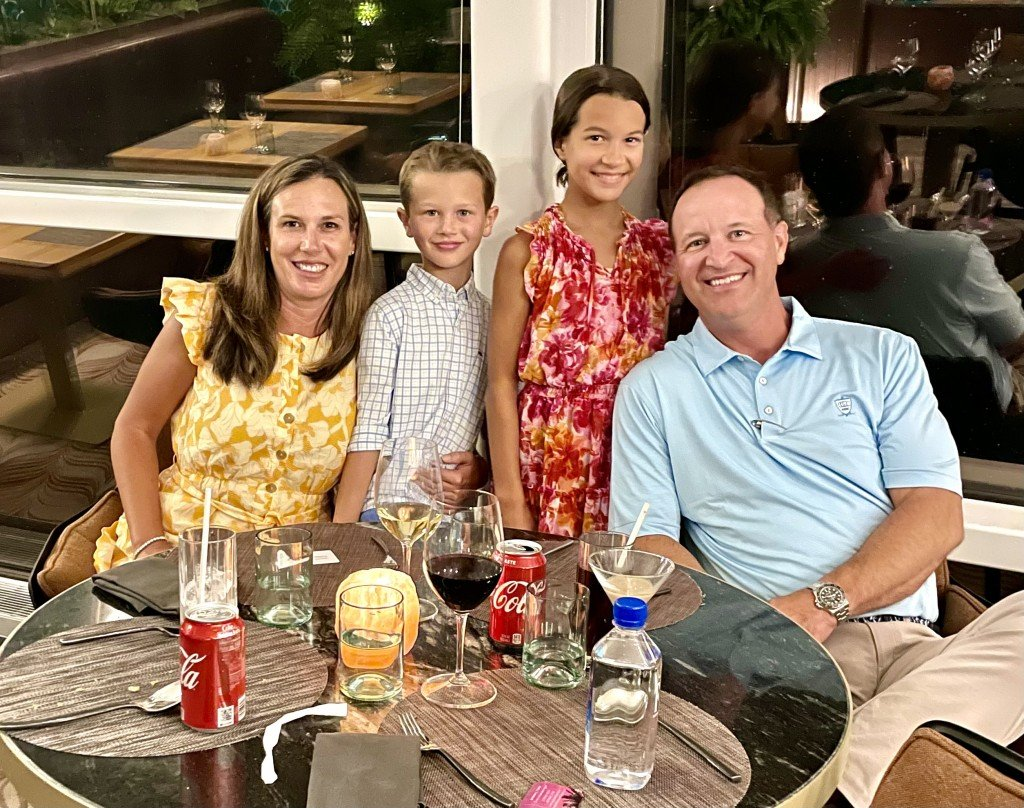 Swinford Family Aboard Celebrity Cruise Ship