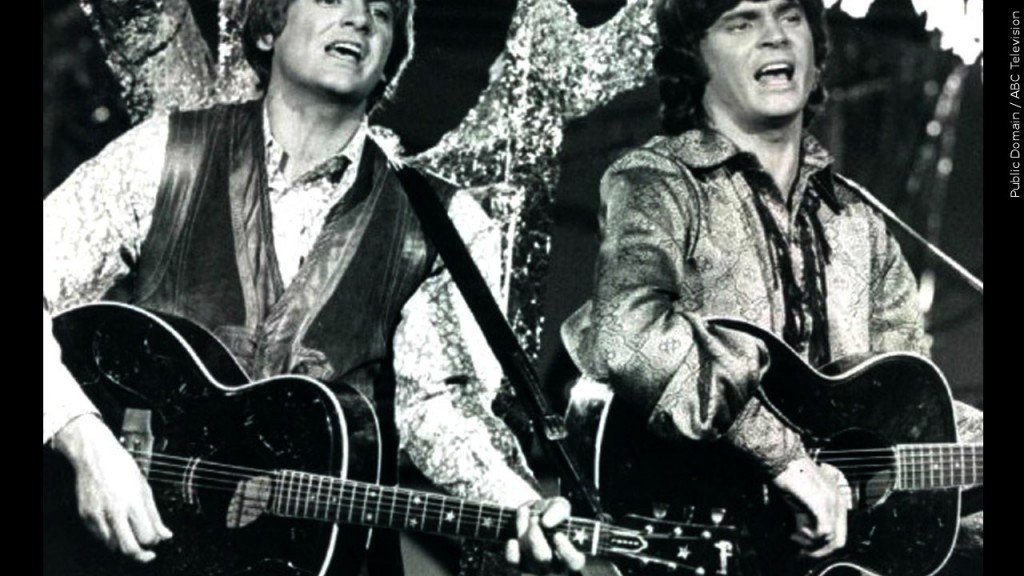 The Everly Brothers Phil Everly (left) and Don Everly (right)