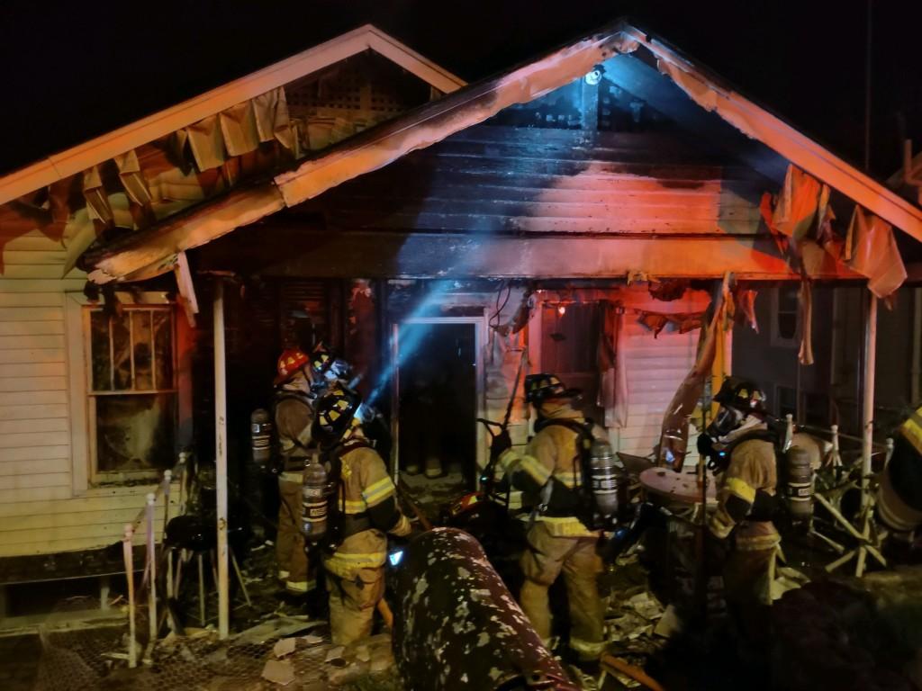 Hamilton Avenue House Fire