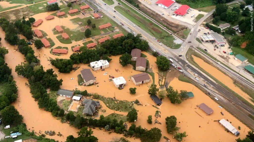Flooding in Waverly