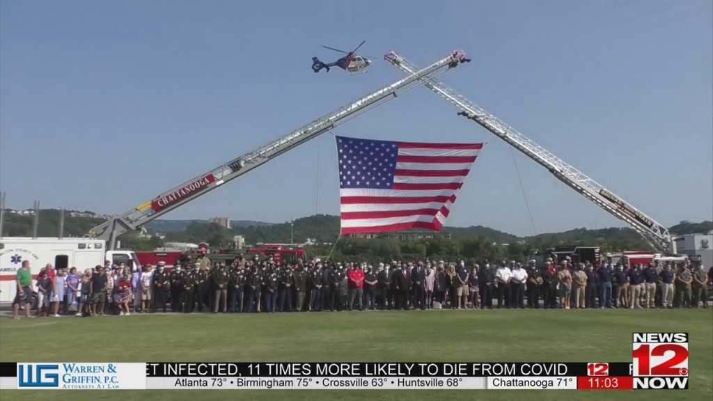 Local First Responders Commemorate 20th Anniversary Of 9/11