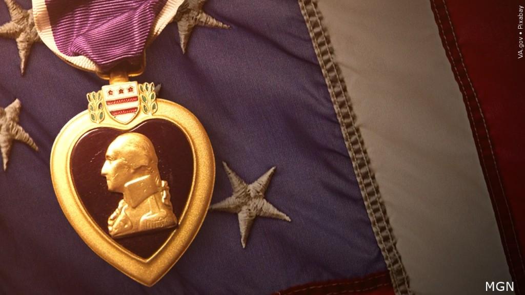 Purple Heart metal