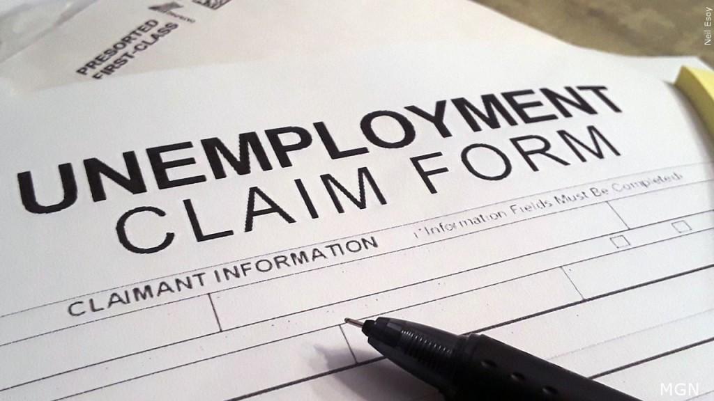 Unemployment claim form