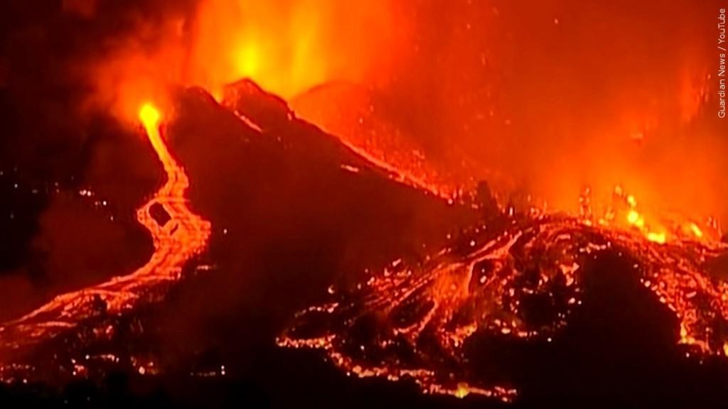 La Palma Volcano, 9-19-21