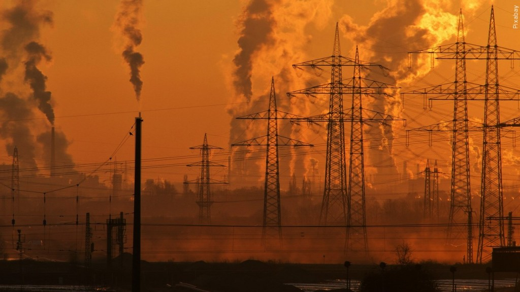 Air pollution, climate change