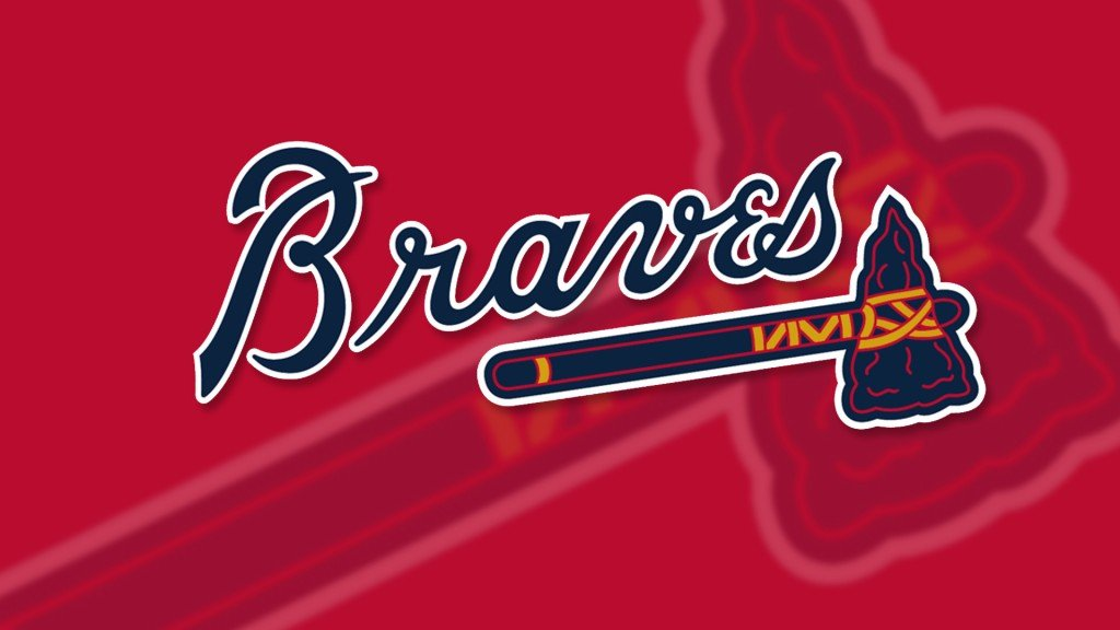 Atlanta Braves Logo Primaryonred
