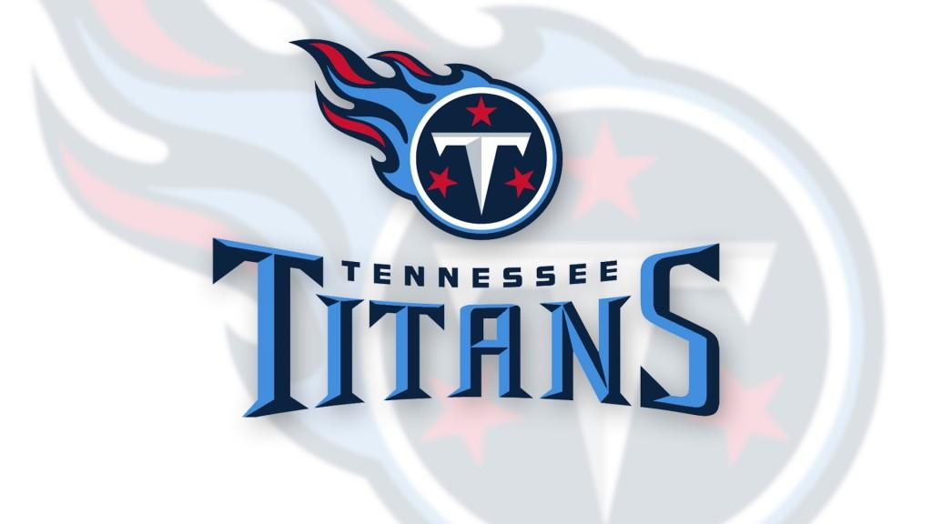 Tennessee Titans Logo Comboonwhite