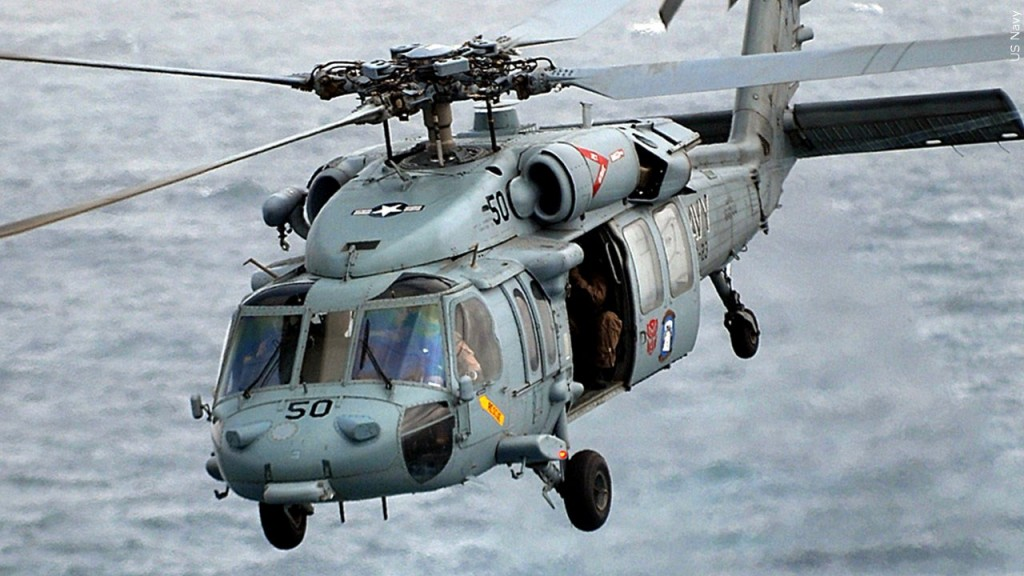 MH-60S Seahawk helicopter