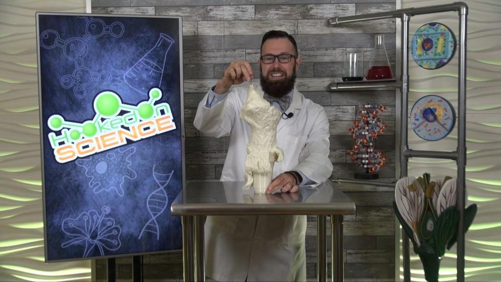 Hooked On Science Foam Monster