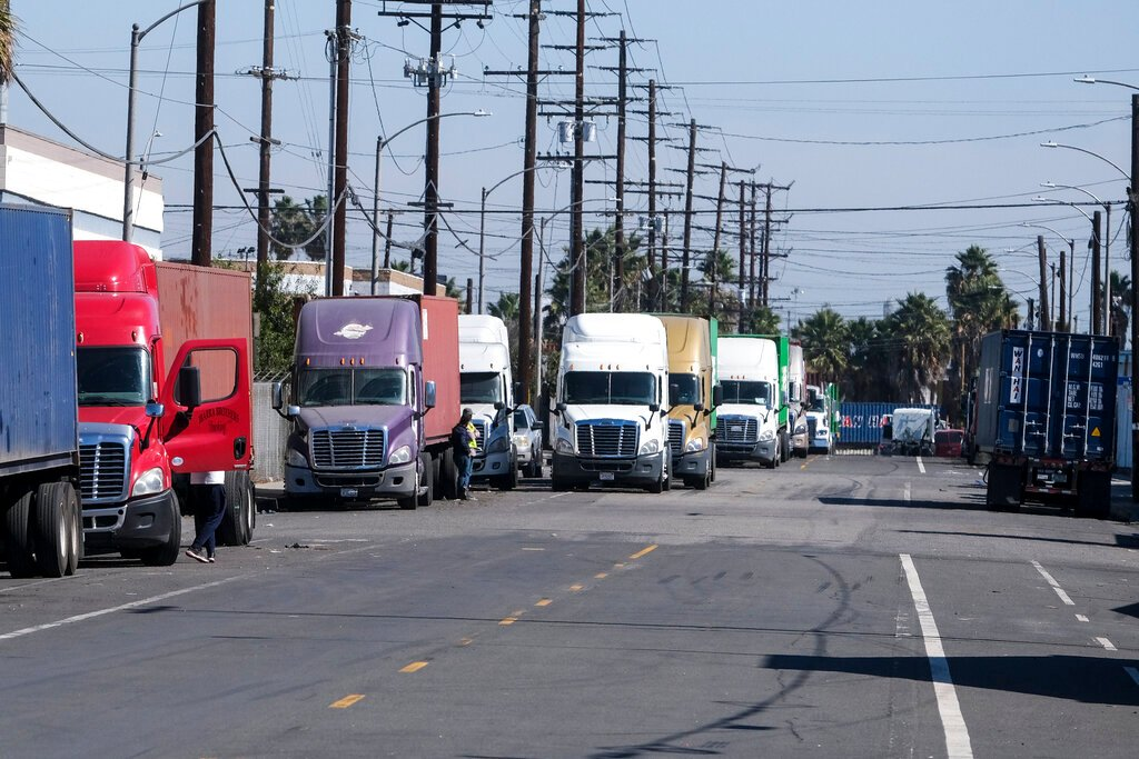 California Overloaded Ports