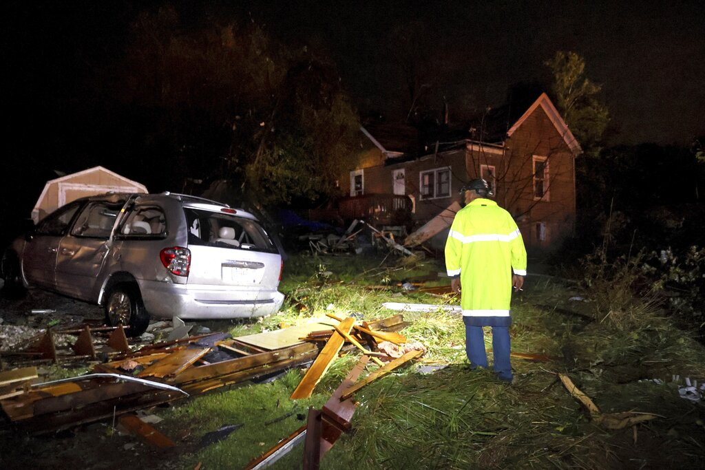Tornado Damage in Missouri