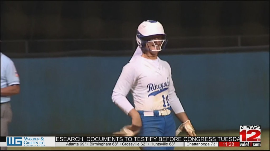 Ringgold Softball Beats Murray Co To Advance To State