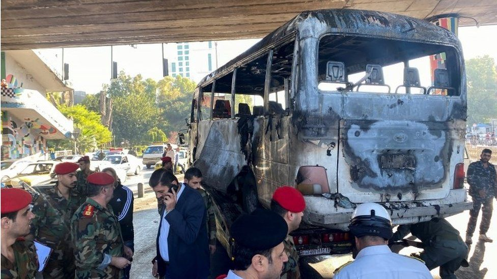SYRIAN BUS ATTACK