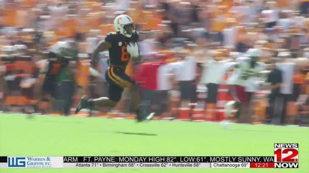 Tennessee Vols Defeat South Carolina 45 20