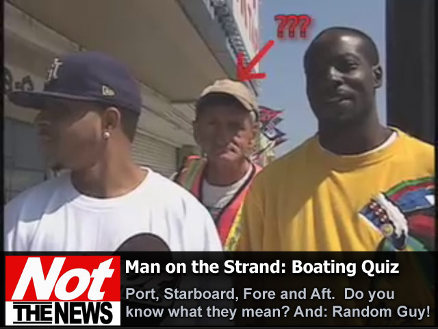 Man on the strand boating quiz wfxb - Difference between starboard and port ...