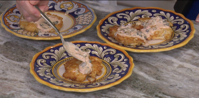 Crab Cakes No Egg No Mayo